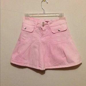 Pink Jean skirt